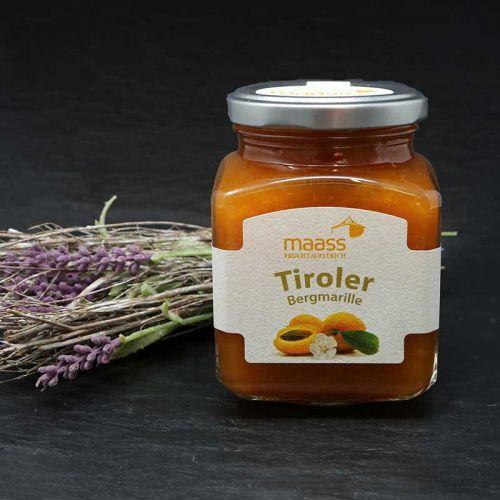 Tiroler Bergmarille Fruchtaufstrich